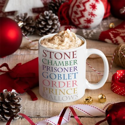 Harry Potter Book Mug Christmas